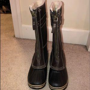 Sorel Shoes - Sorel-Grizzly Bear (Black) Boots